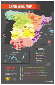 Italy Wine Regions Map Map Of Spain Wine Regions More Than Rioja Or Ribera Spanish
