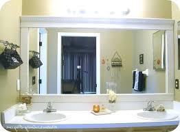 Frame Bathroom Mirror Kit Frame Bathroom Mirror Kit Framed Bathroom Mirrors Bathrooms Design