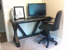 Simple Corner Desk Plans Interior Anna White Desk Ana White Fancy X Desk Diy Projects New