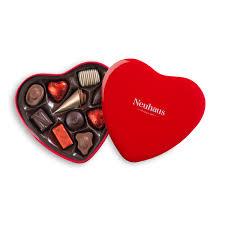 heart gifts neuhaus tin chocolate heart box for delivery in the us neuhaus