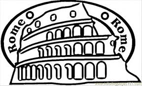 rome coloring free italy coloring pages coloringpages101
