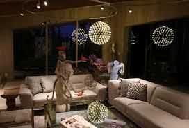 crystal curtain of light lighting installation sestak lighting