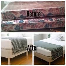 Bed Frame With Wood Legs Platform Bed With Box Spring 2017 And Makingbox Into The Frame