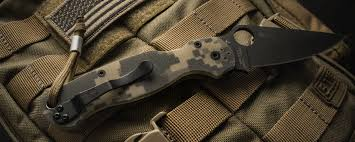 Best Kitchen Knives Made In Usa by Best Spyderco Knife For Self Defense U0026 Hunting Sep 2017