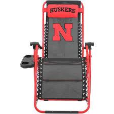 Indoor Zero Gravity Chair Nebraska Cornhuskers Zero Gravity Chair