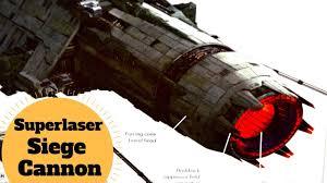 siege canon spoiler resistance base buster superlaser siege cannon