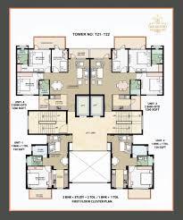 omaxe the resort floor plan archives book my property online