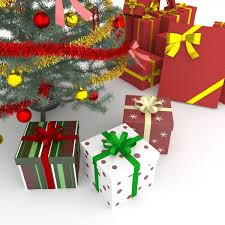 3d christmas tree and gifts cgtrader