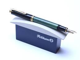 Desk Pen Stand Modern Pelikan 1 Pen Display Desk Stand Base Dark Blue