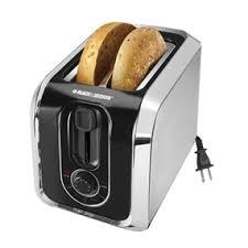 Bread Toasters 2 Slice Toaster Tr1200sb Buy Black Decker Kitchen Appliances