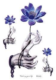 buddha hand tattoo aliexpress com buy large sketch terrible buddha hand enchantment
