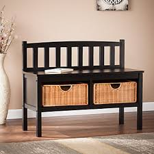 Changing Table Storage Baskets Sei Bench With Storage Baskets Furniture Homestore
