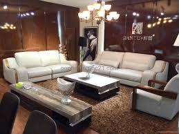 Living Room Wooden Sofa Furniture Quality Wooden Sofa Set Classic Leather Sofa Furniture Post Modern