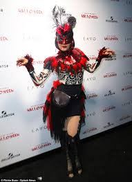 Carnage Halloween Costume Heidi Klum Reveals Transformed Jessica Rabbit