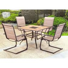Courtyard Creations Patio Set Courtyard Creations Water Edge 5 Pc Dining Set Patio Lawn