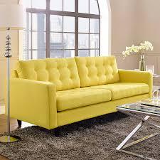Modern Yellow Sofa Modern Sofas Enfield Yellow Sofa Eurway Furniture