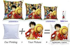 Home Made Decoration Piece Online Home Made Decoration Piece For by Anime One Piece Custom Decorative Pillow Cover Sofa Cushion Custom