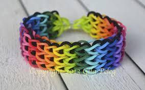 bracelet looms images How to make a multicolor rainbow loom triple single bracelet jpg