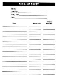 100 potluck signup sheet template best 25 ideas about