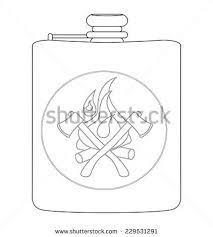 His And Her Flasks Alcohol Flask Stock Images Royalty Free Images U0026 Vectors