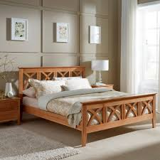 5ft Bed Frame Maiden Oak 5ft Bed Frame By Serene Furnishings