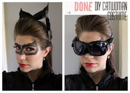catwoman halloween suit undone diy catwoman costume daily diaries