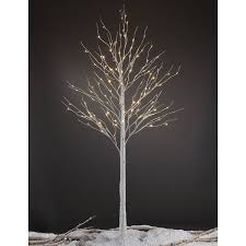pre lit branches lightshare led pre lit 132 light birch tree reviews wayfair