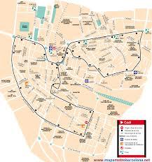 La Metro Bus Map by