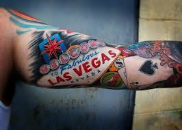 show off your sin city exploits with a las vegas tattoo