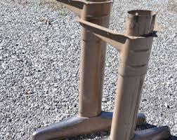 vintage coffee table legs metal table legs etsy