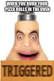 Mr Bean Memes - image tagged in memes mr bean face triggered imgflip