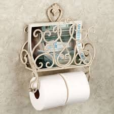 Wooden Toilet Paper Holder Interesting Wooden Toilet Paper Holder With Magazine Rack Pictures