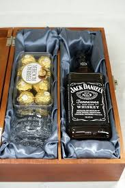 Jack Daniels Gift Set Buy Personalised Engraved Alaska Crystal Glass U0026 Jack Daniels Gift