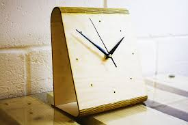 great gift for house warming party laser cut wood table clock u2013 a