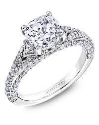 engagement rings cushion cut cushion cut engagement rings