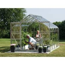 6ft X 8ft Greenhouse Vitavia Saturn 8ft X 6ft 5000 Greenhouse Curved Roof Aluminium Frame