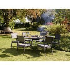 jamie oliver garden furniture buy online or click and collect jamie oliver caraway grilling 6 seater set earl grey poppy seed