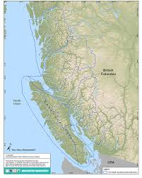 map of bc aquaculture maps pacific region fisheries and oceans canada