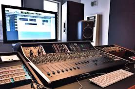 recording studio workstation desk daddy kev chooses ssl xl desk for mixing and mastering at cosmic
