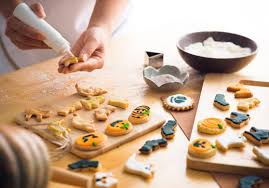 halloween sugar cookies with american made baking supplies usa
