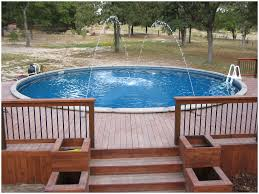 20 Inspirational graph Steps for Ground Pool with