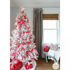 55 appealing white tree decorating ideas for a white