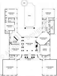 house plans with courtyard in middle u shaped house plans australia