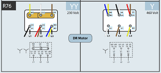 wiring electric motor for dual belt conveyors support