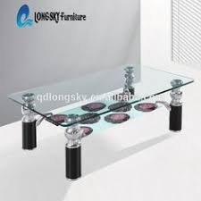 livingroom table ls beautiful furniture decoration abs material coffee bar desk led