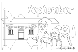 September Monthly Coloring Pages 24200 Bestofcoloring Com Coloring Pages For September