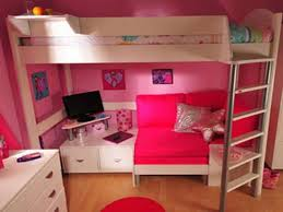 Single Bunk Bed With Desk Bedroom Charming Tween Loft Bed Complete With Single Bed Desk