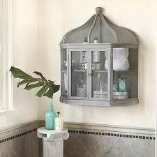 Bird Cage Decor Grey Birdcage Decorative Shelf