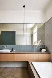 best ideas about contemporary bathroom mirrors pinterest wood tile bathrooms basement bathroom modern master light mirror lights lighting vanity