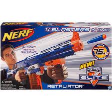 nerf car gun nerf n strike elite retaliator blaster walmart com